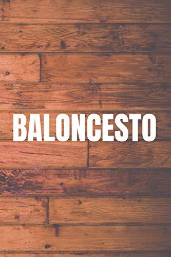 Baloncesto: 110 páginas con Espacio para Jugadas, Notas, Entrenamientos | Regalo Perfecto para Entrenadores de Basket
