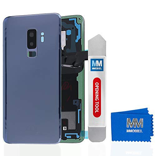 MMOBIEL Tapa Bateria/Carcasa Trasera con Lente de Cámara Compatible con Samsung S9 Plus G965 6.2 Pulg. (Azul Coral)