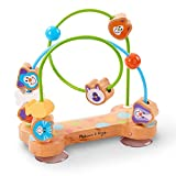 Melissa & Doug First Play Pets Wooden Bead Maze with Suction Cups for Babies and...