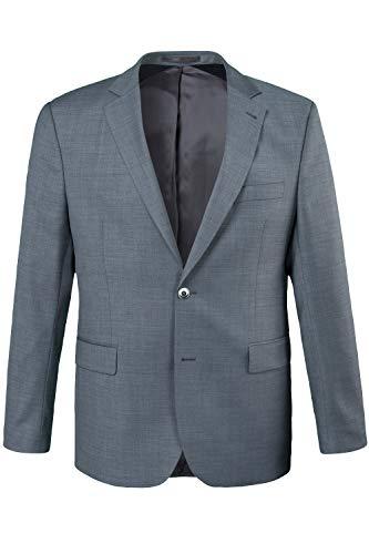 JP 1880 Herren große Größen bis 72, Sakko Pan FLEXNAMIC®, Premium-Baukasten, Schnurrwoll-Qualität, knitterfrei grau 27 702887 12-27