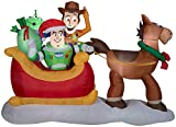 Gemmy Inflatables (Toy Story Sleigh)