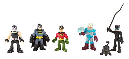 Fisher-Price Imaginext DC Super Friends Batman Heroes & Villains Pack