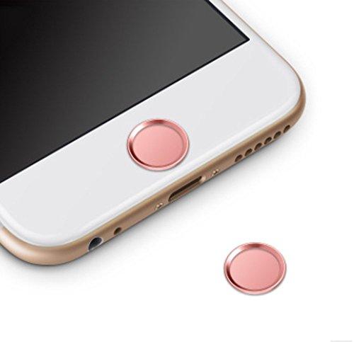 ホームボタンシール Sakula 指紋認証可能 iPhone8 iPhone8 Plus iPhone7 iPhone7 Plus iPhone6s iPhone6 Pl...