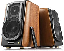 Edifier S1000MKII Audiophile Active Bookshelf 2.0 Speakers - 120w Speakers Bluetooth 5.0 with aptX HD - Optical Input - S1000MK2 Powered Near-Field Monitor Speaker with Class D Amp