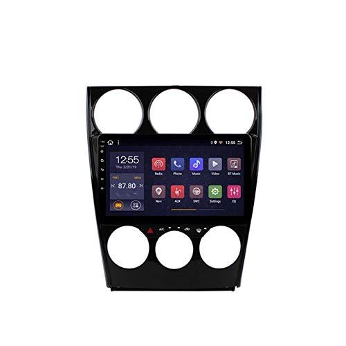Android 8.1 Radio De Automóvil Para 2002-2008 Old Mazda 6 Coche Estéreo GPS Navegación Táctil Pantalón Touch Player Doble Din Head Unit United Soporte WiFi Contro(Size:Ocho núcleos,Color:WIFI:1+16G)