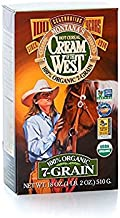 Cream of the West, 100% Organic Hot Cereal, 7-Grain - 18 oz. Single Box