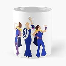 92Wear Donna and The Dynamos Mamma MIA 2 Musical Best 11 oz Taza De Café - Taza De Motivos De Café