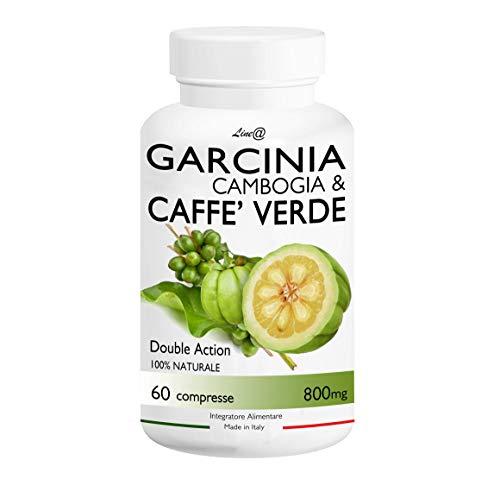 GARCINIA CAMBOGIA & CAFFE' VERDE / Line@Diet (60 compresse) 100% NATURALE ***BRUCIAGRASSI con DOPPIO RISULTATO!!! Stop a CARBOIDRATI e ZUCCHERI! Un ottimo alleato per la Dieta e per CONTROLLARE il PESO! Prodotto in ITALIA*** Brucia grassi e torni subito in forma!