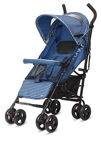 Play Funky 160 - Silla de paseo plegable tipo paraguas, Nautic Blue