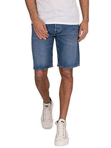 Levi's 501 Hemmed Short, Pantalones cortos Hombre, Pate Short, 29W