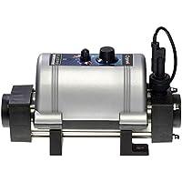 Elecro Aquatic - Calefactor (3 kW, Acero Inoxidable), Color Negro