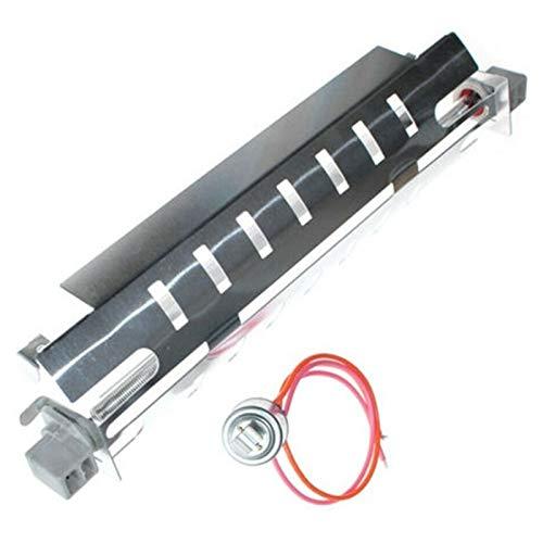 Haude WR51X10055 Defrost Heizung + Thermostat-Set für GE Hotspot Kühlschrank Premiums Kühlschrank Ersatzteile