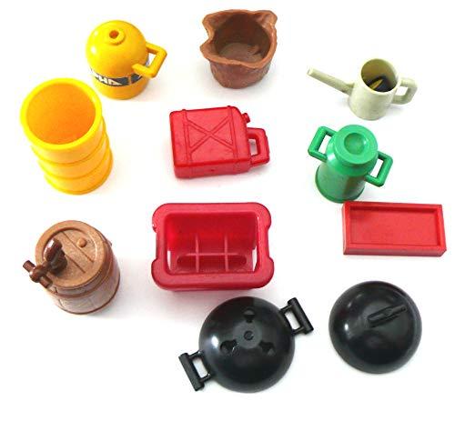 playmobil- ® - 10 Teile Fass mit Zapfhahn Kanne Tonne