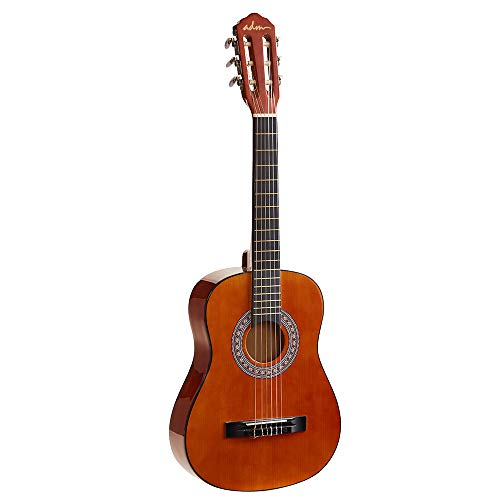 ADM Kids Classical Guitar 1/2 Size 34 Inch Wooden Guitar for Age 6-12 Starter and Beginner, Sunset