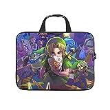 Facbalaign Zelda Characters - Bolso bandolera portátil de alta calidad con asa