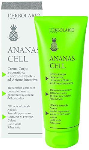 L'Erbolario Ananas Cell - Crema per il corpo super attiva, confezione da 1 (1 x 200 ml)
