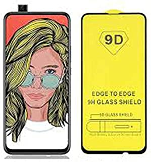 9D Glass Screen Protector Full Glue For Huawei Y9 Prime 2019 - Black