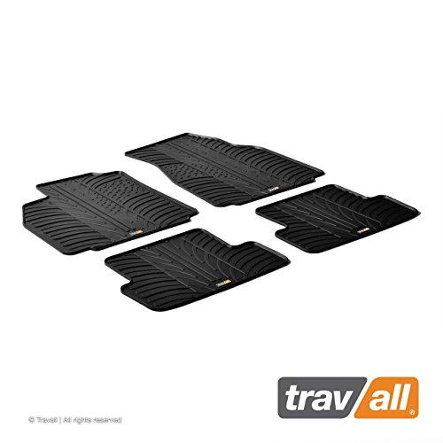 Travall Mats Gummifußmatten Kompatibel Mit Renault Megane Fließheck Limousine und Grandtour (2002-2009) TRM1003 - Allwettermatten Nach Maß Fussmatten Set