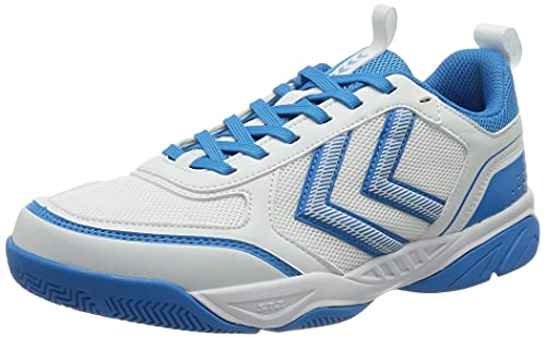 hummel Unisex Aero Team 2.0 Handball Shoe, Weiß, 43 EU