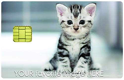 Personalize Your Credit Card - Bank Card Sticker ( only CHIP) with Your Favorite Image