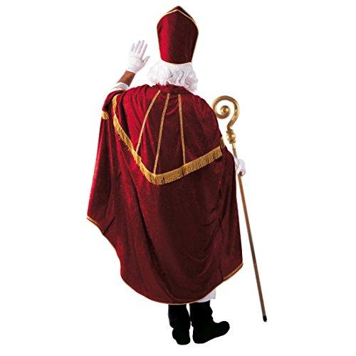 Amakando Disfraz de obispo para pap, disfraz de Pap Noel, disfraz de Papa, disfraz de Papa, disfraz para mujer, hombre, iglesia, obispo, tnica