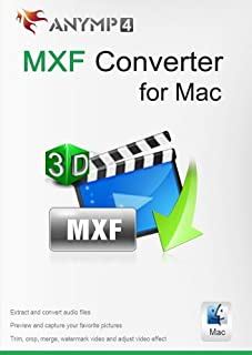 AnyMP4 MXF Converter for Mac – Convert MXF video to MP4, MOV, AVI, MP3 and other video/audio formats freely on Mac [Download]
