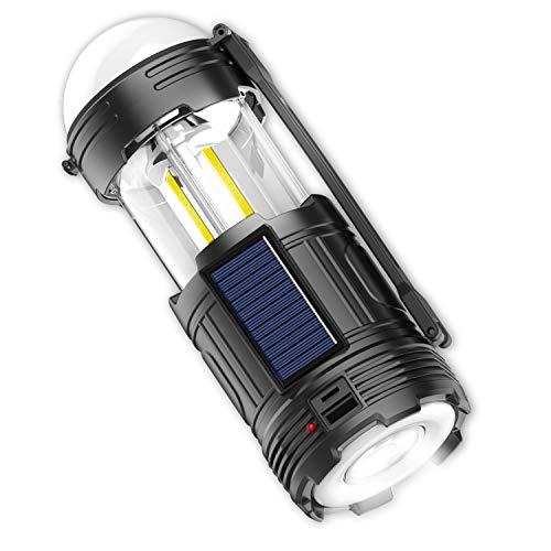 ledランタン 充電式 電池式 3in1給電方法 ソーラー充電式 懐中電灯 4モード切替 高輝度 キャンプランタン USB 折り畳み式 アウトドア用品 防災 応急 停電 登山 夜釣り ポータブル テントライト携帯型 小型