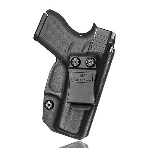 Glock 43 Holster IWB Kydex Holster for Glock 43/43X Concealed Carry Holster Belt Clip Inside The Waistband G43 G43x 9mm Gun Holsters Pistols Women/Man-Adjustable Cant US KYDEX Made-No Wear-No Jitter