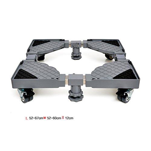 LJ Roller Automatische Waschmaschine Basis Edelstahl Feste Erhöhung Riemenscheibe Stent (größe : 4 feet)