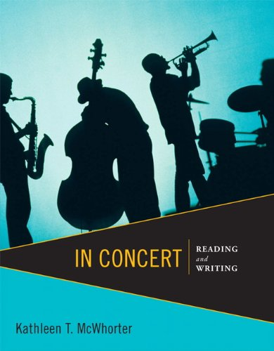 In Concert: Reading and Writing
