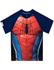 Marvel Camiseta de Manga Corta para niños Spiderman