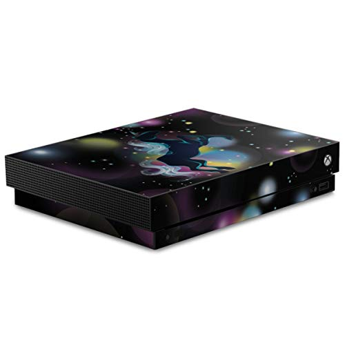 DeinDesign Autocollant Compatible avec Microsoft Xbox One X Sticker Film Autocollant Unicorn Enfants Space