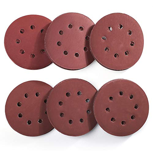 5 Inch 8 Holes Sanding Discs - 1000 to 3000 Grit Set
