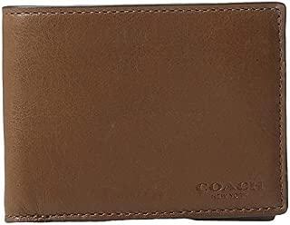 COACH Mens Sport Calf Slim Billfold ID Wallet