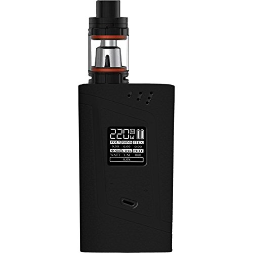 PhoneNatic Case kompatibel mit SMOK Alien 220W - Hülle Silikon schwarz Cover Tasche