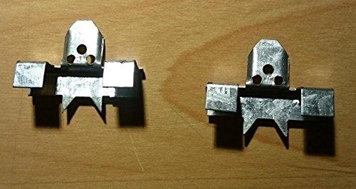 Metall-Fettfilter Haltenasen Adapter Klammern, Universal Metallfilter (2 Stück pro Set) Dunstabzugshaubenfilter