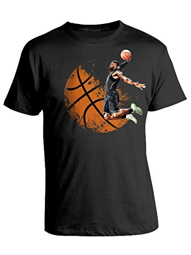 bubbleshirt Tshirt Basket- NBA- Pallacanestro- Slam Dunk- - in Cotone