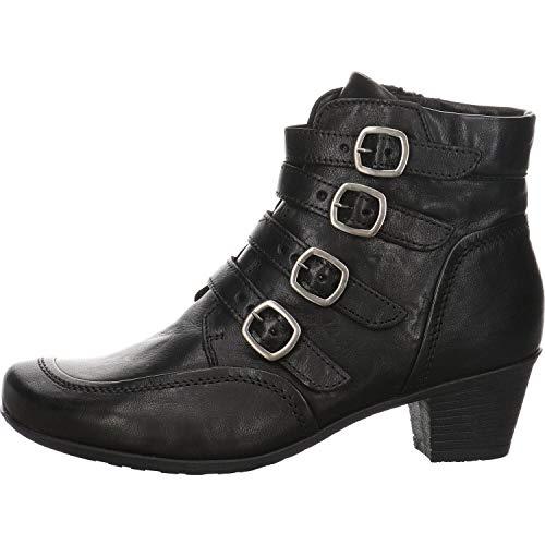 Gabor Damen Stiefelette Leder schwarz Gr. 40