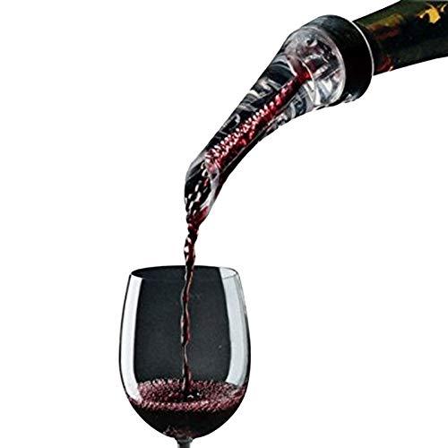 Rotwein Inflatable Pourer, Rotwein-Belüftungsanlagen, Fast Inflating Werkzeug, bewegliche Filter (Size : 1)