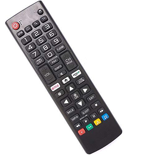 Universal LG Smart TV Mando a Distancia Compatible con Todos Mando a Distancia de LG TV AKB75095308 AKB74915324 AKB75095307 AKB75375604 AKB74915305 - No se Requiere configuración Control Remoto