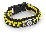 Aminco NFL Pittsburgh Steelers Paracord Survival Bracelet