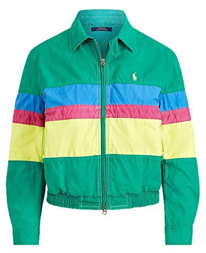 Polo Ralph Lauren Damen Jacke Retro Sport Jacke Multi Gr. M