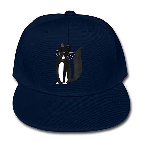 Labels4school Kitty-Katzen-Haustier-Baseballkappe, verstellbar, Hip-Hop-Baseballkappe...