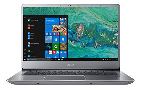 Acer Swift 3 SF314-54-59UX Notebook con Processore Intel Core i5-8250U, RAM da 8 GB DDR4, 256 GB SSD, Display da 14' Full HD IPS LED LCD, Scheda grafica Intel UHD 620, Windows 10 Home, Silver