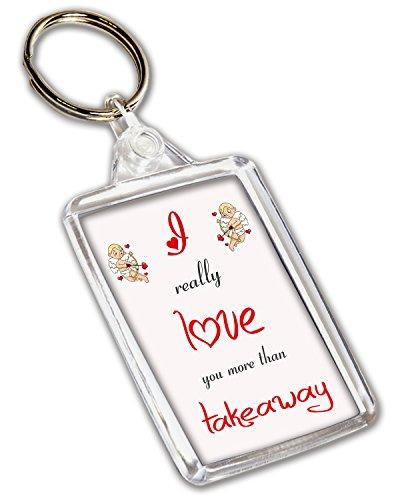 I Love pour plats sur le thème – Porte-clé – Saint-Valentin/anniversaire/cadeau d'anniversaire pour elle ou Lui