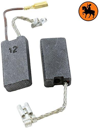Kohlebürsten für BOSCH GBH 7-46 DE Hammer -- 6,3x12,5x25mm -- 2.4x4.7x9.8'' -- Mit automatische Abschaltung