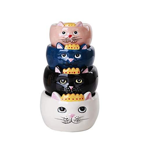 Ceramic Cat Measuring Bowls