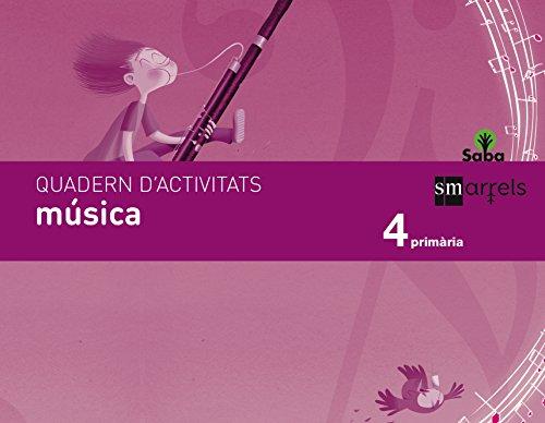 Quadern música. 4 Primària. Saba - 9788467579437