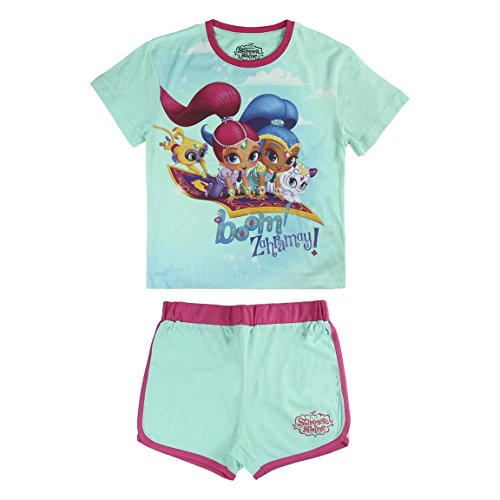 Shimmer And Shine S0713029 Pajama Set, Multicolor, 3 a os Unisex-Child