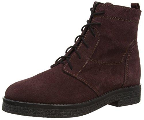 ESPRIT Sila Lu Bootie, Damen Combat Boots, Rot (600 bordeaux red), 37 EU